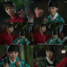 kdrama, moonlight drawn by clouds, and kim yoo jung image