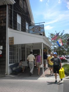 King's Ice Cream is a local favorite in historic downtown Lewes, Delaware!