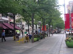 Planters on the 16th Street Mall - Google Search