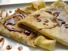 Εθιστικές αγαπημένες γλυκές κρέπες με 'αλκοολικό' άρωμα για προσωπικές δημιουργίες. Crepes, Breakfast, Ethnic Recipes, Food, Morning Coffee, Pancakes, Essen, Meals, Pancake