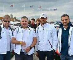 #DavidGandy & #VectorMartini Team today at #CowesTorquayCowes || 06/09/15