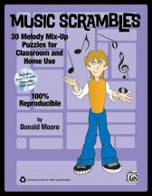Teach and test music reading skills with this 100% reproducible resource for developing musicians! Individual measures of familiar melodies have been randomly scattered for students to reassemble.  The enclosed Data CD contains PDF files of each puzzle, ready for your smart board or website.
