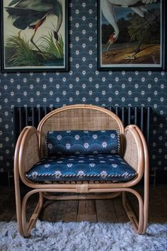 and matching chair upholstery in Deco Martini by Divine Savages Savage Wallpapers, Living Room Decor Inspiration, Print Wallpaper, Chair Upholstery, Decoration, Love Seat, Art Deco, Savages, Interior
