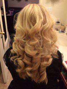 Thick big curls