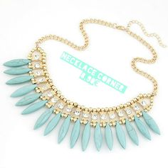 Collier Tournesol via Necklace's Store. Click on the image to see more!