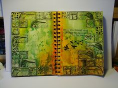 The Craft Barn: Bird week: Art Journal pages
