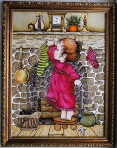 """Holiday Evening"" - art by enehi, via Gallery.ru"