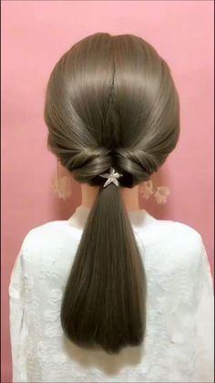 Bun Hairstyles For Long Hair, Braids For Long Hair, Cute Hairstyles, Wedding Hairstyles, Braid Hair, Simple And Easy Hairstyles, Braided Hairstyles Tutorials, Party Hairstyles, Hair Tutorials