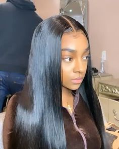 Your frontal unit hit different Your frontal unit hit different YSwigs yswigsoffice YSwigs Straight lace wig Wig yswigs 360 lace frontal wig straight hair Can t nbsp hellip hair videos Frontal Hairstyles, Weave Hairstyles, Straight Hairstyles, Latina Hairstyles, Hairstyles 2018, Baddie Hairstyles, Wig Styles, Curly Hair Styles, Natural Hair Styles