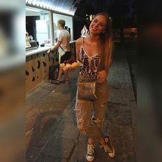 Gofffferek i lato 💔 #polishgirl #poland #seaside #summer #szczecin #waffel #converse #blonde #smile