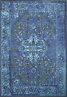 NuLoom Vintage Reiko Blue