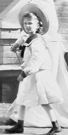 Grand Duchess Olga Nikolaevna...