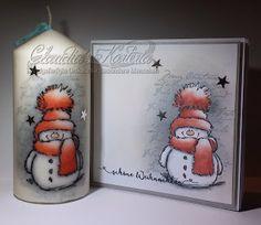 Claudia's Karteria I Card, Blog, Candles, Crafts, Design, Digi Stamps, Boxes, Stamping Up, Card Crafts