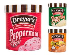Taste Test: Dreyer's (and Edy's) #Holiday Ice Cream Flavors.