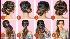 40 Cute Hairstyles: Step-by-Step Tutorials for Long Hair, Lengthy voluminous bouncy hair is always considered as symbols of sexiness, charm and mature femininity. The lustrous healthy long bouncy hair can alw. Easy Hairstyles For Medium Hair, Step By Step Hairstyles, Medium Long Hair, Cute Girls Hairstyles, Long Layered Hair, Modern Hairstyles, Fancy Hairstyles, Medium Hair Styles, Curly Hair Styles