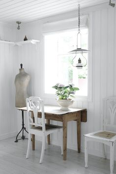 Work space ♡ Coutry ♡ Shabby ♡ Wood ♡ Scandinavian ♡