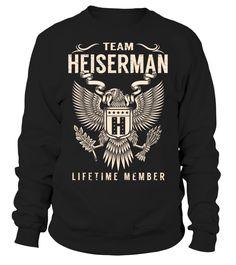 Team HEISERMAN Lifetime Member