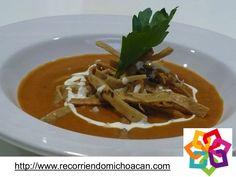 MICHOACÁN MAGICO TE INFORMA La cocina michoacana es muy variada y exquisita. son famosas la sopa tarasca, hecha con tortilla, queso y salsa de jitomate, y las corundas, otra variedad de tamales de forma triangular, servidos con frijoles, carne de cerdo y crema. Son deliciosos si visitas Michoacán no dudes en dejarte embelezár por su gastronomía. HOTEL ALAMEDA http://www.hotel-alameda.com.mx/