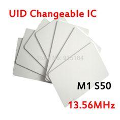 5 stücke UID ic-karte Veränderbar UID Veränderbar smart Card für 1 Karat S50 MF1 libnfc RFID 13,56 MHz ISO14443A karte Block 0 sector beschreibbare