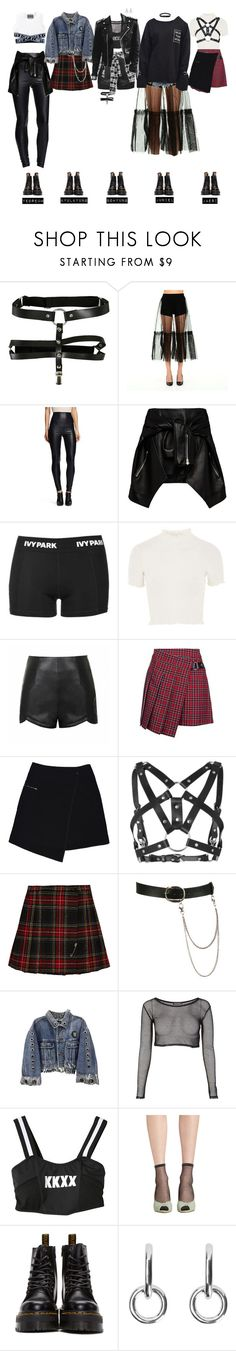 """A.N.G.L - FINGERTIP Music Video"" by official-angl ❤ liked on Polyvore featuring MSGM, K by Kersh, Magda Butrym, Topshop, Ally Fashion, MARC CAIN, Zana Bayne, Yves Saint Laurent, Wet Seal and GET LOST"