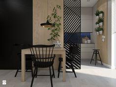 KONTRAST CZERNI - Jadalnia, styl nowoczesny - zdjęcie od UTOO- pracownia architektury wnętrz i krajobrazu