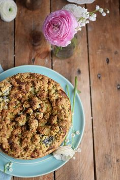 Mohn Streusel Quark Kuchen - Poppy Seed Crumble Cheesecake (2)