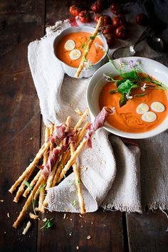 Mi receta de salmorejo - Because blog