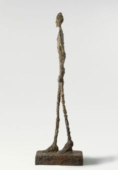 Sculpture by Alberto Giacometti.  #Alberto Giacometti #art #sculpture