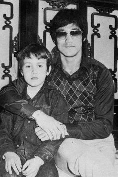 Bruce and Brandon at Shaw brothers