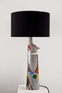 WOUTER HARVEY: Wouter Hoste Ceramic Lamps