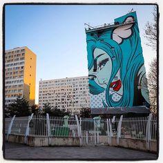DFace @ Paris... Work in progress Last touches... .  Photo : Lionel Belluteau Plus de photos sur https://ift.tt/YMhG58  @dface_official @galerie_itinerrance #streetart13 #dface #d_face #paris #graffiti #parisgraffiti #urbanart #wallpainting #urbanartparis #itinerrance #galleryitinerrance @mairie13paris #lionelbelluteau @unoeilquitraine