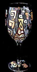 Man-O-Man Design - Hand Painted - Grande Wine -16 oz. by BELLISSIMO! HAND PAINTED GLASSWARE. $34.95. Bellissimo! is the manufacturer of America's Premier Hand Painted Glassware.. Highly collectible, each piece of Bellissimo! is individually signed by the artist.. All Bellissimo! merchandise is exquisitely hand painted using an exclusively formulated non-toxic paint.. Every product is thoroughly inspected to meet our strict quality control criteria, and then fired...