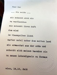 Sag mir ein Wort und ich schreib dir ein Gedicht. Wortfachgeschaeft @ Kunstkanal, Vienna. Inspirationswort: Weide