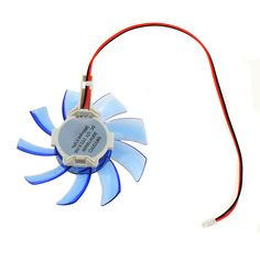 Personal Computer Graphics Card Cooling Fans 7.5cm Diameter Computer Replacements Graphics Card Cooler Fans