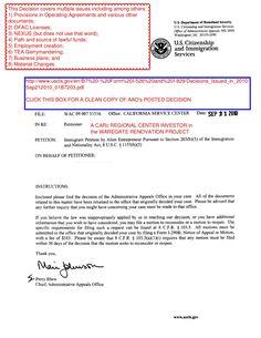 aao-carc-i526-appeal-dismissed-sep-21-2010 by Joseph  Whalen via Slideshare