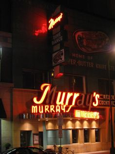 Murray's, a steakhouse in Minneapolis has been apart of the restaurant scene since 1946. It is still family owned and a legacy located at 26 S. 6th Street.