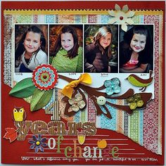 A Project by gumpgirl from our Scrapbooking Gallery originally submitted 11/08/11 at 08:33 AM
