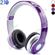 at-bt802 беспроводной связи Bluetooth v2.1 + эпд динамических sterero гарнитуры W / FM, построенный в микрофон F смартфон / план