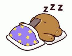 Milk And Mocha Bear Couple GIF - MilkAndMocha BearCouple Sleepy - Descubre & Comparte GIFs