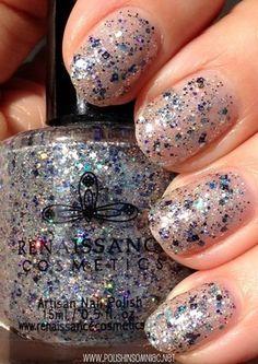 The Top 10 Glitters of 2014 - Renaissance Cosmetics Evenstar (sun) #nailpolish #glitter