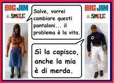 Big Jim & Smile: Commesso solidale - Capitan Drake & Big Jim Big Jim, Drake, Lol, Smile, Memes, Funny, Meme, Funny Parenting, Hilarious
