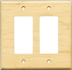 sugar maple satin lacquer light switch plates outlet covers wallplates