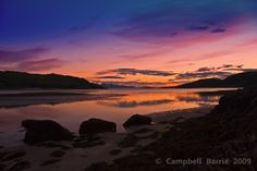 Morar Sunset by Campbell Barrie