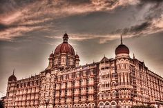 The Taj Hotel Mumbai. #photography #hdr