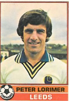 peter lorimer - Soccer Cards, Football Cards, Football Players, Baseball Cards, Sport English, Leeds United Fc, Player Card, Ronald Mcdonald, 1970s