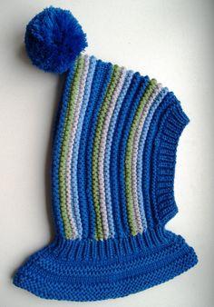 READY TO SHIP size 1-3. Merino Balaclava Hat Baby/ by NesyBaby