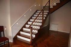 Barandales de madera para escaleras