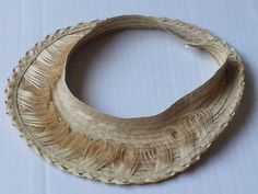 natural palm straw #women visor size 52 (NEW) visit our ebay store at  http://stores.ebay.com/esquirestore