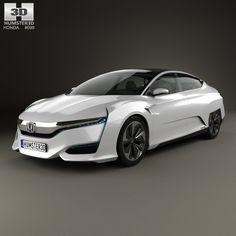 Honda FCV 2015 3d model from humster3d.com. Price: $75