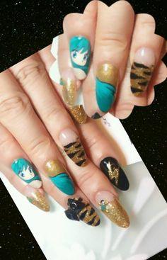 うる星やつら : Character nail art